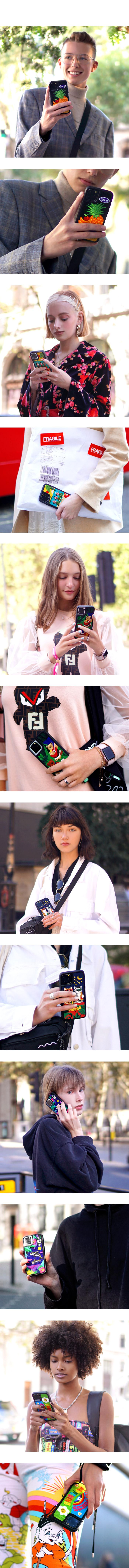 위글위글(WIGGLE WIGGLE) Embroidery Case 아이폰 자수케이스 시즌3