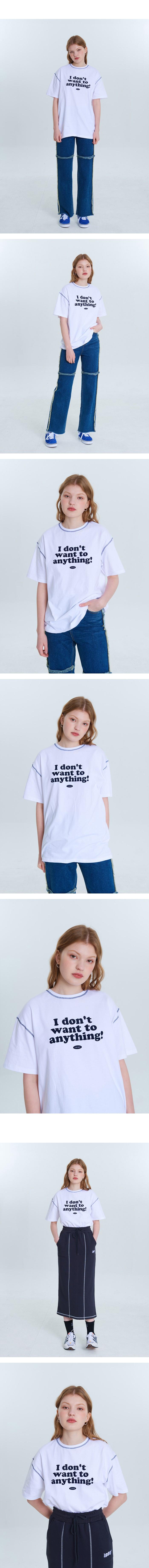 1993스튜디오(1993STUDIO) 후로피 레터링 티셔츠