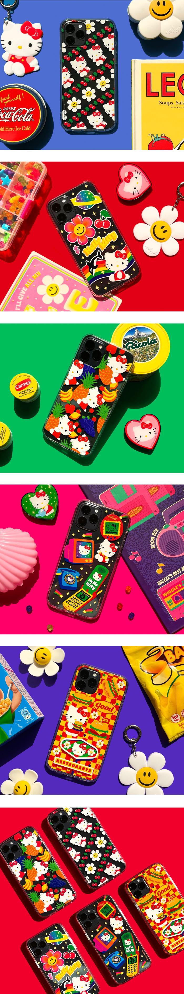 위글위글(WIGGLE WIGGLE) 헬로키티 투명케이스 - Our Favorite Toys