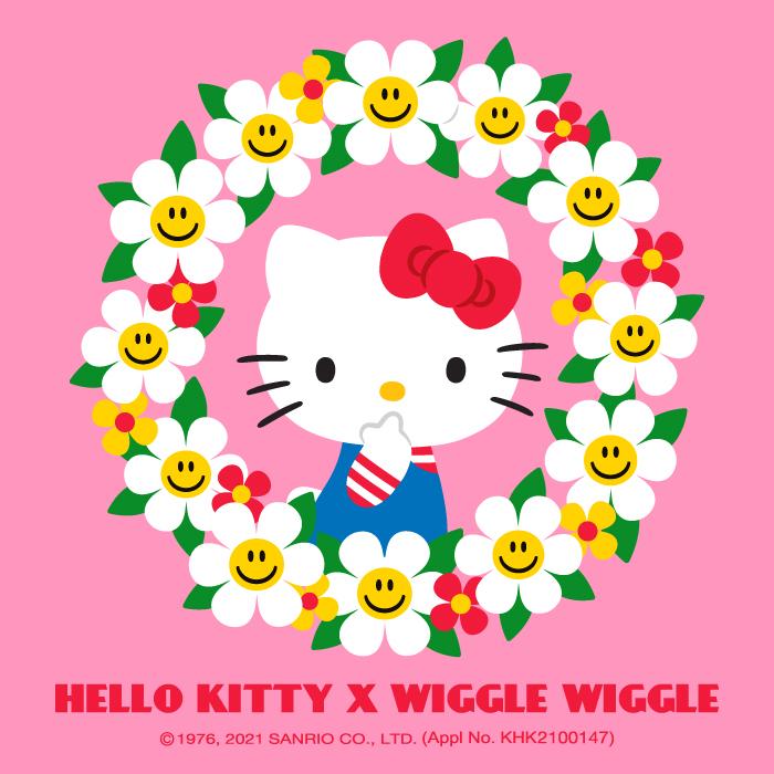위글위글(WIGGLE WIGGLE) 헬로키티 투명우산 - Our Favorite Toys